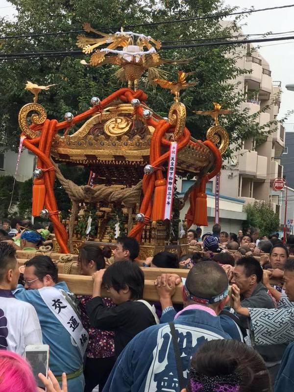 9/15(日)は氷川神社例大祭のため鈴木だけお休みいたします